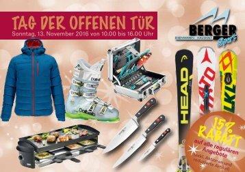 Bergersport – Weihnachten 2016