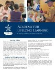 Academy for Lifelong Learning - Page 2