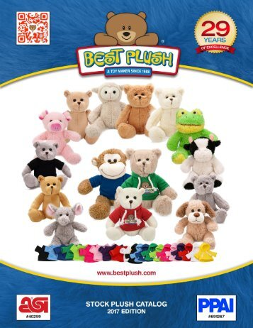 Stock Plush Catalog 2017