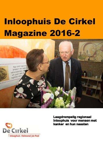 Inloophuis De Cirkel Magazine 2016-2