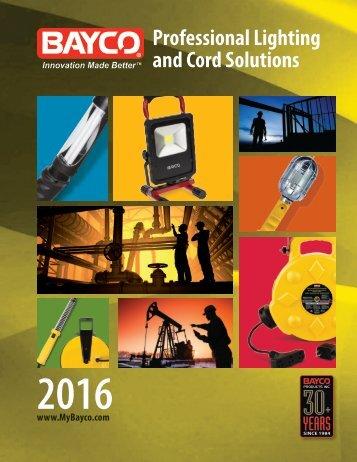 Bayco - Catalogue 2016