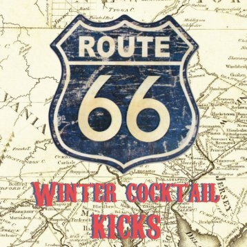 Route 66 Winter Cocktail Catalogue