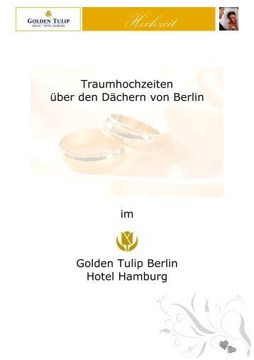 Hochzeitsmappe test - Golden Tulip Berlin Hotel Hamburg