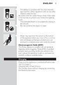 Philips Rasoir électrique - Mode d'emploi - THA - Page 3
