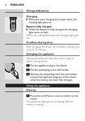 Philips Rasoir électrique - Mode d'emploi - THA - Page 4