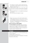 Philips Rasoir électrique - Mode d'emploi - EST - Page 3