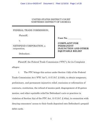 161110netspend_doc_1_complaint_redacted