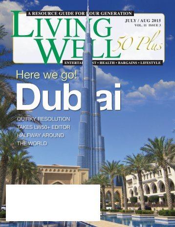 Living Well 60+ July – August 2015