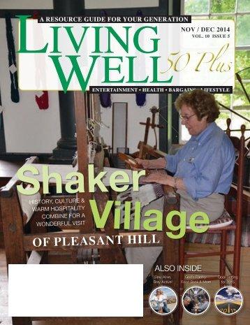 Living Well 60+ November – December 2014
