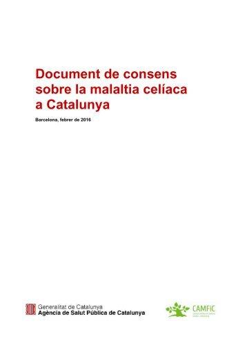 sobre la malaltia celíaca a Catalunya