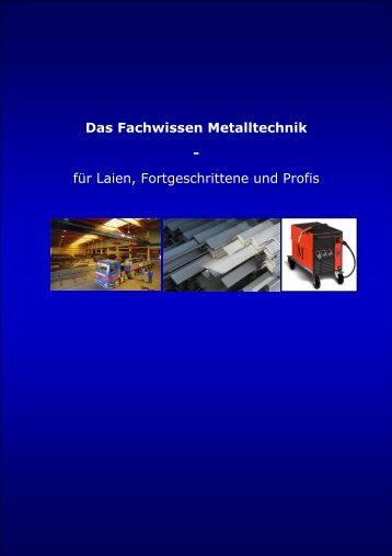 Das Fachwissen Metalltechnik