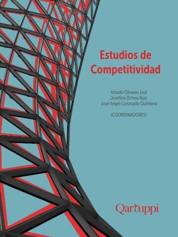 """2015, Libro: """"Estudios de Competitividad""""."""