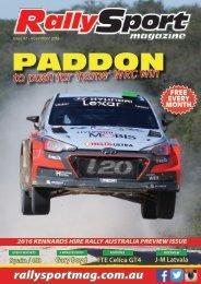 RallySport Magazine November 2016