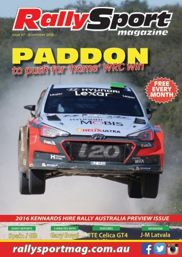 RallySport Magazine November 2016