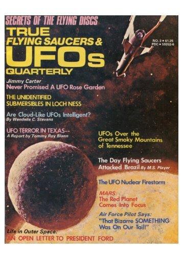 True-Flying Saucers  & UFO Quarterly  Fall 1976