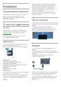 Philips 6000 series Téléviseur ultra-plat 4K avec Android TV™ - Mode d'emploi - SWE - Page 6
