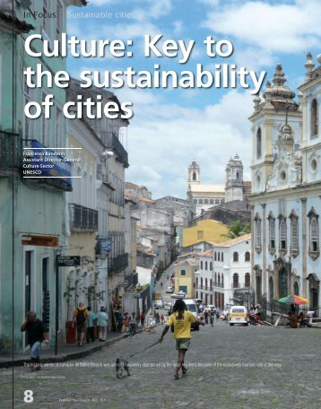 Culture Key to the sustainability of cities