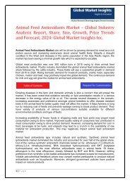 PDF - Animal Feed Antioxidants Market