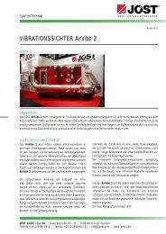 VIBRATIONSSICHTER AirVibe 2 - JÖST GmbH + Co.KG