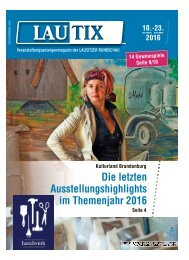 Lautix Magazin 10.11.2016