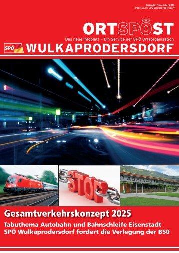 Wulkaprodersdorf | OrtSPÖst 11/2016