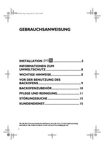 KitchenAid OV C31 S - Oven - OV C31 S - Oven DE (857924229000) Istruzioni per l'Uso