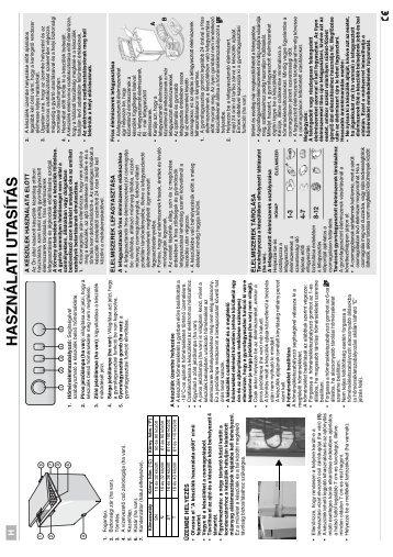 KitchenAid HF1220 B - Freezer - HF1220 B - Freezer HU (850790929010) Istruzioni per l'Uso