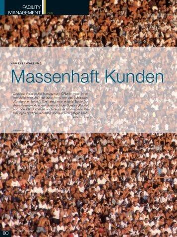 Massenhaft Kunden - k.section.com