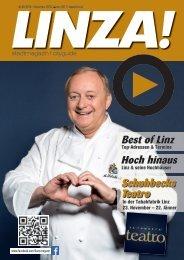 LINZA stadtmagazin Ausgabe #4 – Dezember/Jänner 2016