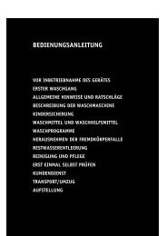 KitchenAid KING SIZE 1200 - Washing machine - KING SIZE 1200 - Washing machine DE (857081212000) Istruzioni per l'Uso