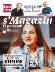 s'Magazin usm Ländle, 13. November 2016