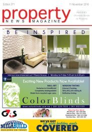 Property News Magazine - Edition 371 - 11 October 2016