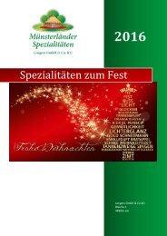 Weihnachtskatalog 2016