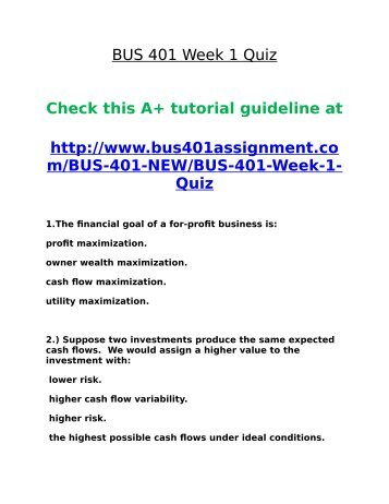 bus 309 quiz 8 Bus 309 chapter 8 quiz the workplace basic issues bus 309 chapter 8 quiz the workplace basic issues.