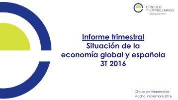 economía global y española 3T 2016