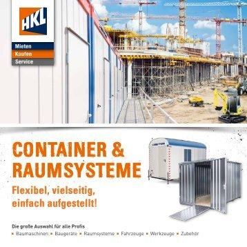 Container & Raumsysteme mieten & kaufen