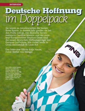 im Doppelpack Deutsche Hoffnung - Caroline Masson