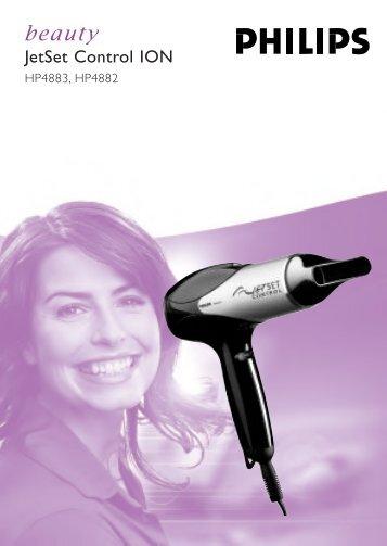 Philips Sèche-cheveux - Mode d'emploi - MSA