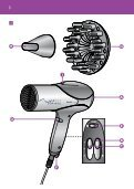Philips Sèche-cheveux - Mode d'emploi - MSA - Page 3
