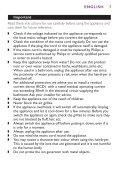 Philips Sèche-cheveux - Mode d'emploi - MSA - Page 7
