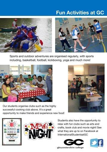Activities Flyer 2015