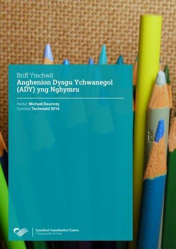 Anghenion Dysgu Ychwanegol (ADY) yng Nghymru