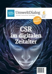 UmweltDialog Nr 6: CSR im digitalen Zeitalter