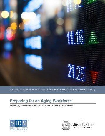 Preparing for an Aging Workforce