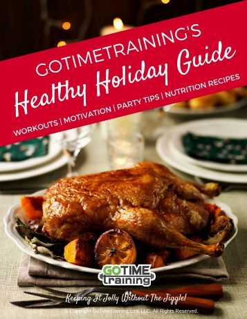GoTimeTraining Healthy Holiday Guide
