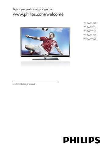 Philips 5000 series Téléviseur LED Smart TV - Mode d'emploi - SRP