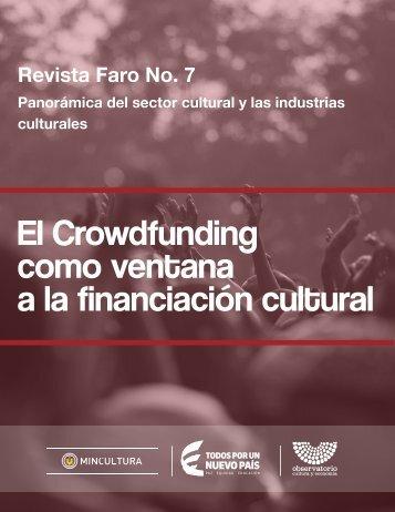 como ventana a la financiación cultural