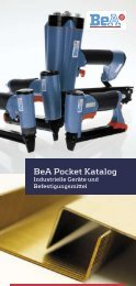 BeA Pocket Katalog