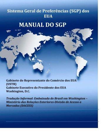 MANUAL DO SGP