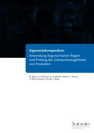 Ergonomiekompendium - Bundesanstalt für Arbeitsschutz und ...